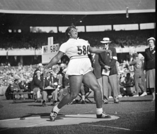 Earlene Brown 1956 Olympics