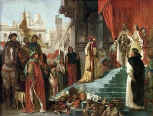 Columbus back in Spain