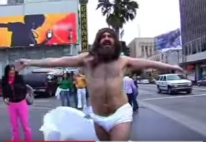 Jesus singing in New York City