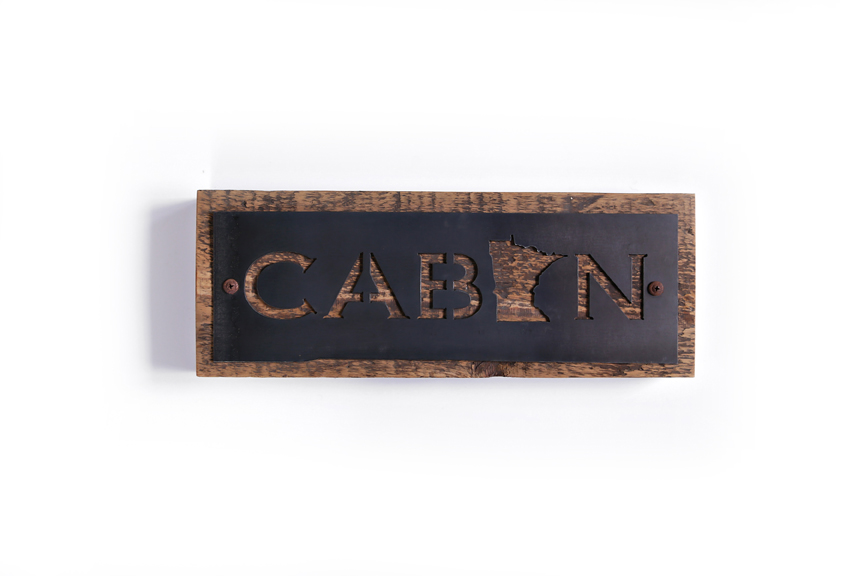 Cabin Minnesota Cut Out