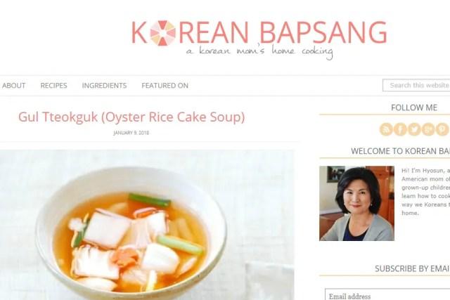 Korean Bapsang