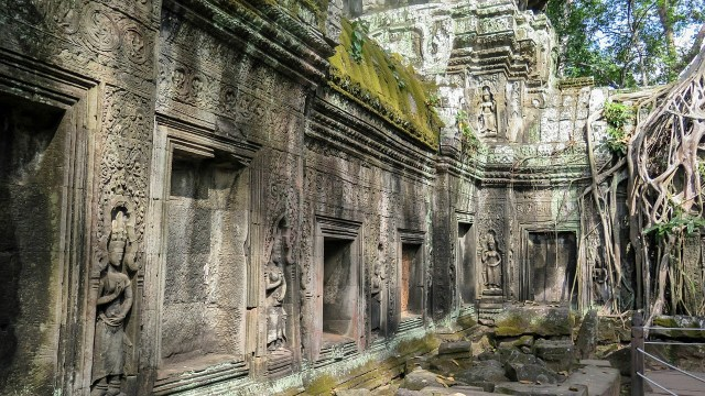 One of the filming locations for Lara Croft: Tomb Raider.