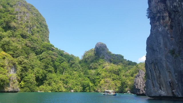 One of the best beaches in the world is located in Palawan.