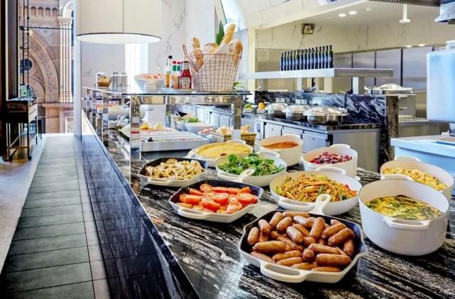 Hilton Sydney Breakfast Spread Eco Green Travel Food
