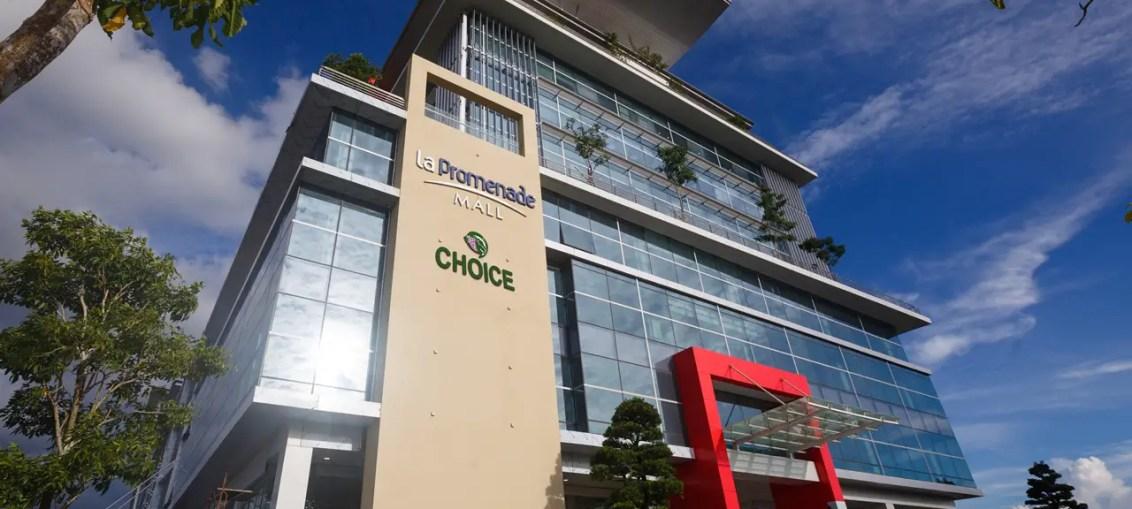 la promenade mall kuching