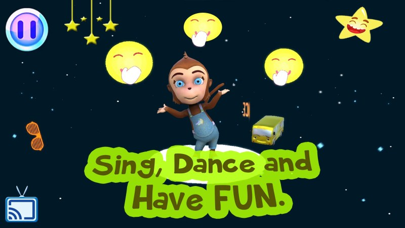 Nursery Rhymes and Kids Songs : Dancing game for Kids
