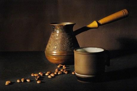 Как варить не молотый кофе?