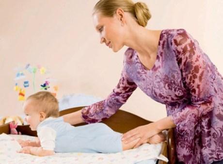 Правильная техника укладывания малыша