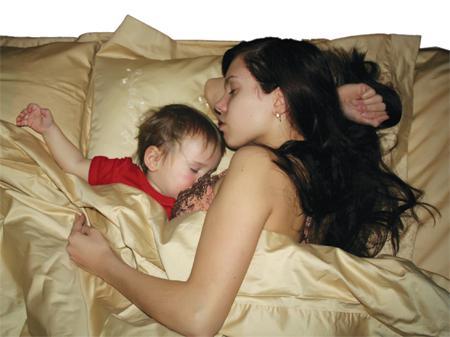 Как правильно укладывать спать народного?