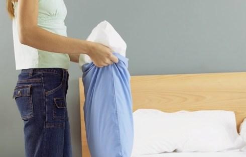 Как сушить перьевую подушку?