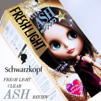 SCHWARZKOPF FRESH LIGHT CLEAR ASH HAIR DYE [REVIEW]: Toning down red tones.