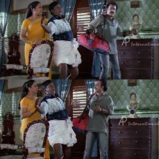 Vadivelu between rajni and his wife