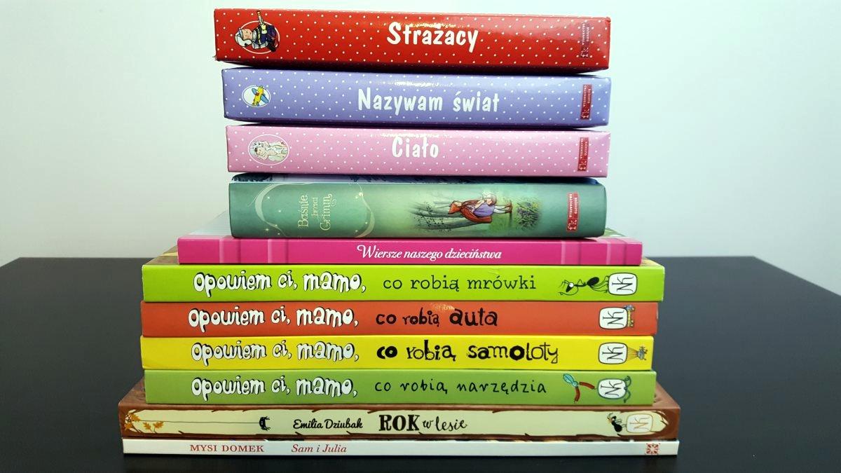 Książki dla starszaka polecają się na prezent