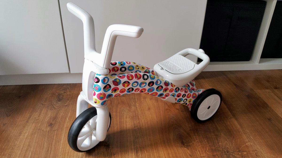 Rowerek biegowy dla rocznego dziecka Smiki Bunzi 2 w 1
