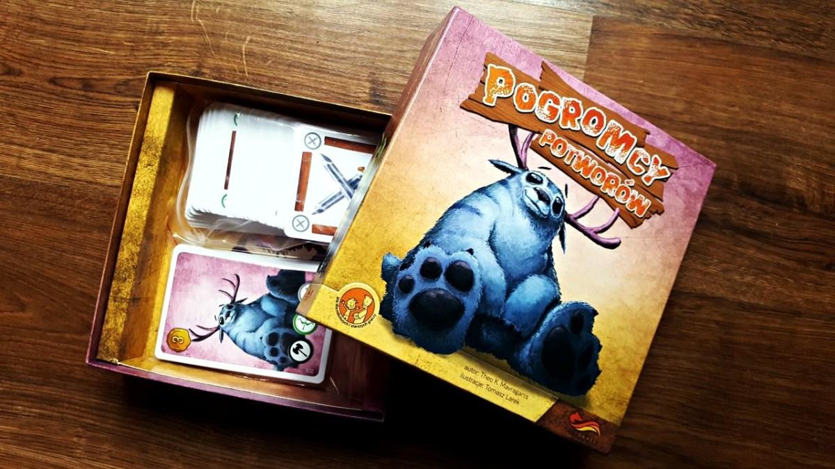 """Konkurs """"Mój przyjaciel potwór"""" z grą """"Pogromcy potworów"""" od FoxGames"""