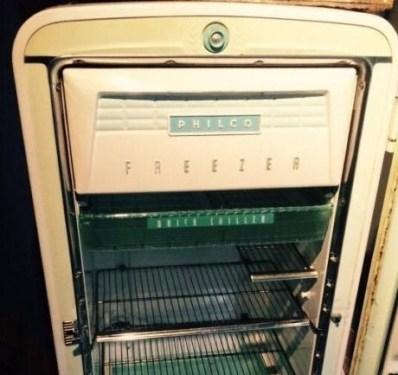 De oude koelkast