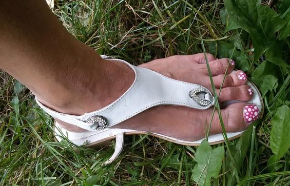 Naast je schoen lopen