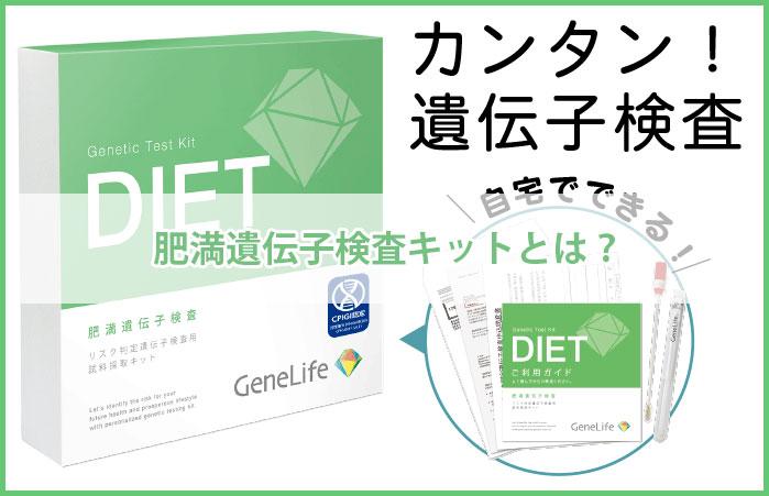 肥満遺伝子検査キットとは