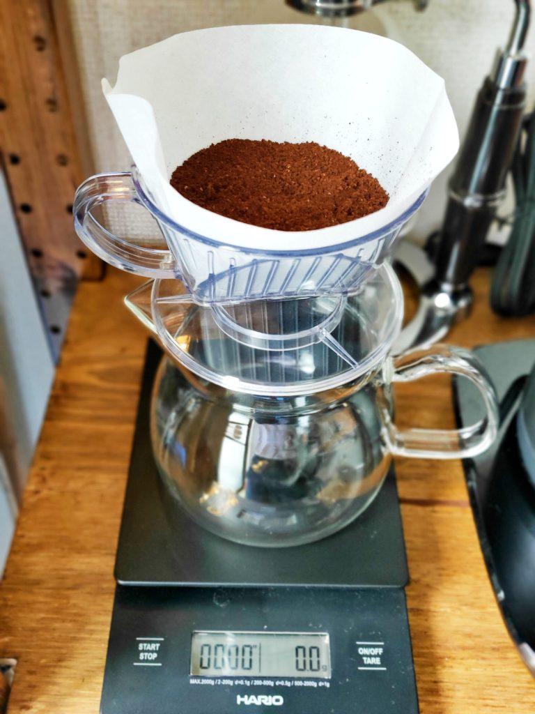 コーヒーのドリップ器具