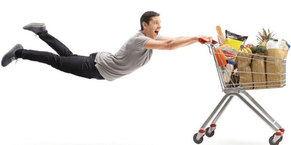 Где выгодно покупать продукты?