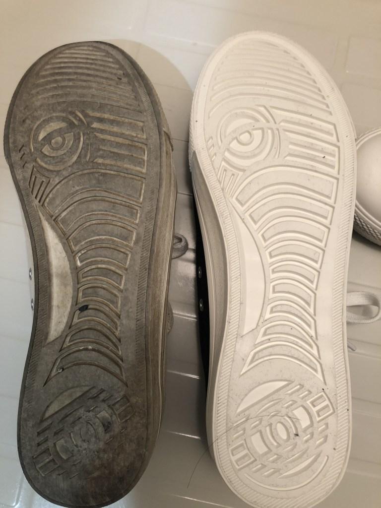 靴底の比較画像