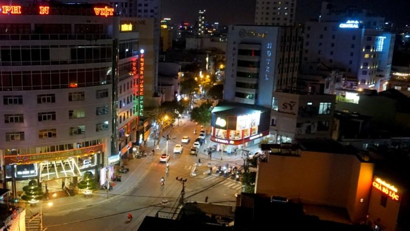 ベトナム・ダナンの夜景