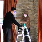 【家づくり:上棟後13.5week④】カーテン装着❗️補修屋さんのアドバイスあります