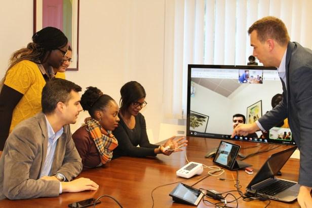 Studenti smera E-Health and Telemedicine Management - poseta kompanije 1