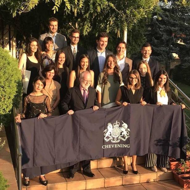 Dodela stipendija Chevening, Britanska ambasada, Beograd