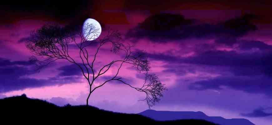 смысл песни на сиреневой луне