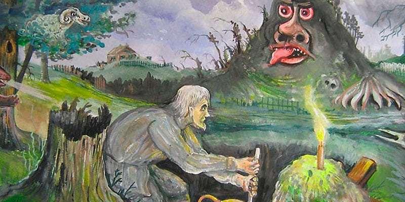 Смысл произведения Гоголя - Заколдованное место