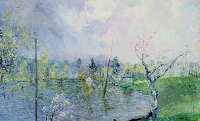 Смысл стихотворения «Весенний дождь» Афанасия Фета