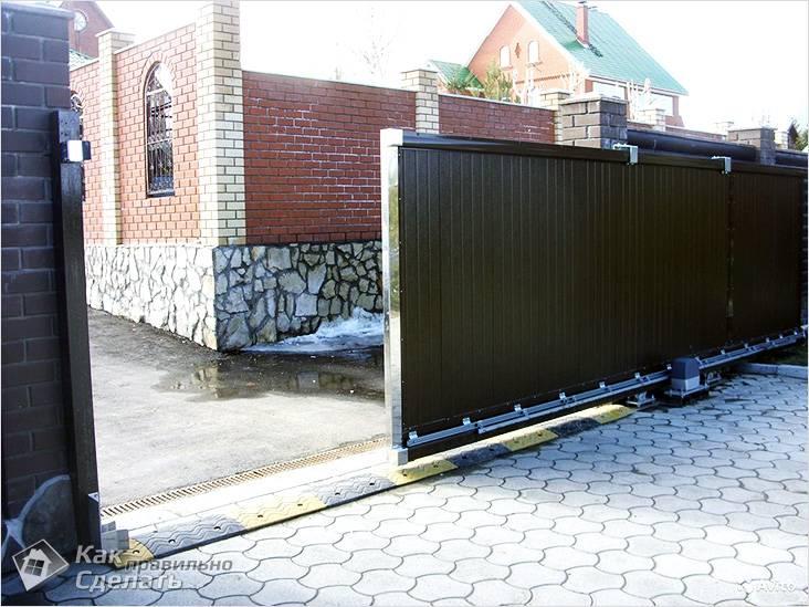 Instalace brány