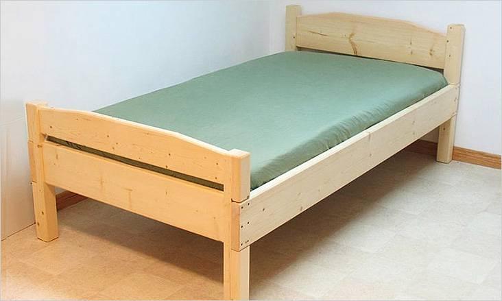 Απλό μονό κρεβάτι