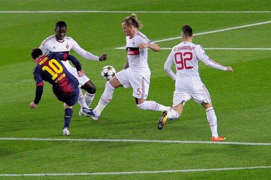 Barcelona vs Ac Milan 2nd leg UEFA Champions League 16