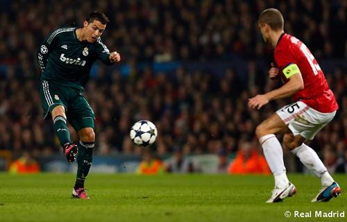 Manchester United Vs Real Madrid Uefa Champions League quarter final 2nd leg 14