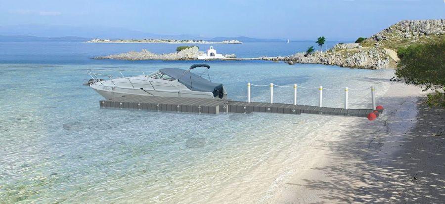 πλωτές εξέδρες_προβλήτες συναρμολόγηση Σταματίου Kaktos