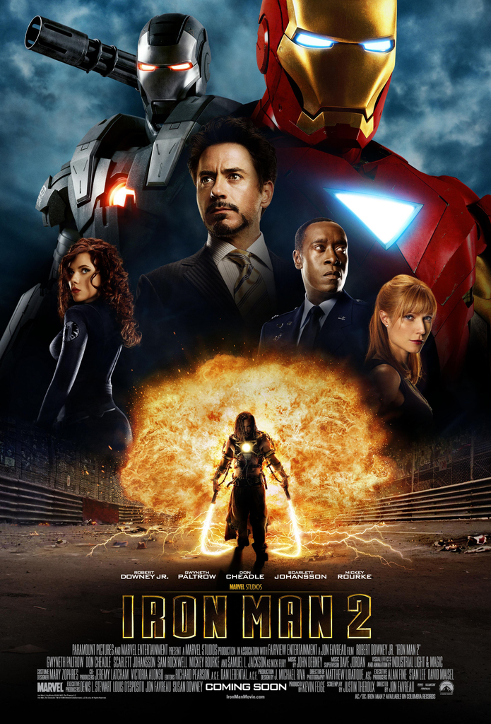 Iron Man 2 2010 Poster