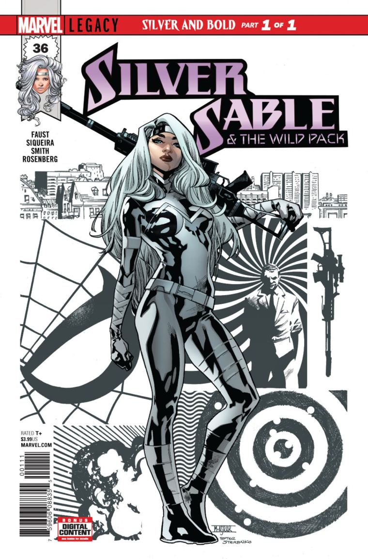 Silver Sable Spider-Man