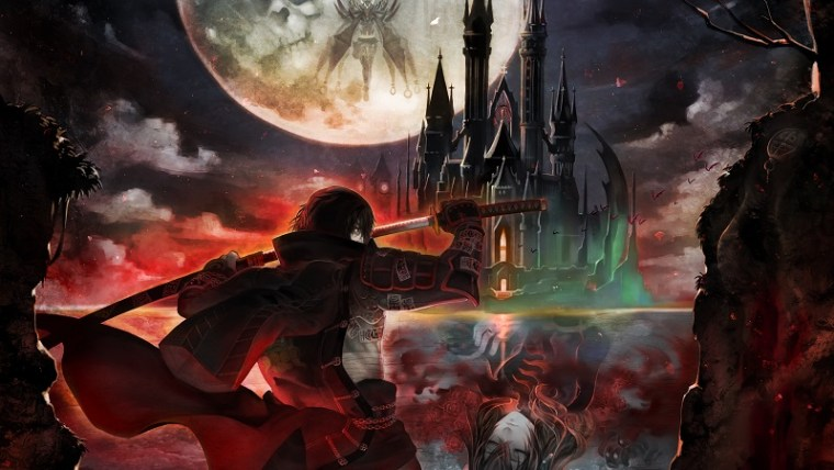 Bloodstained-Curse-of-the-Moon-Key-Art