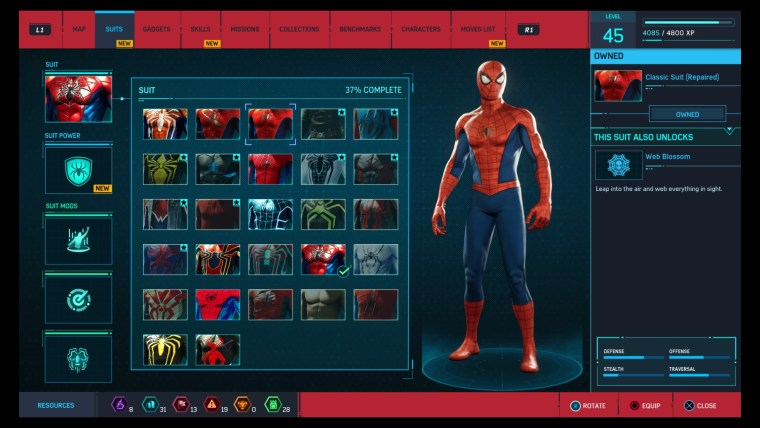 All The Spider-Man Suits You Can Unlock In That New PS4