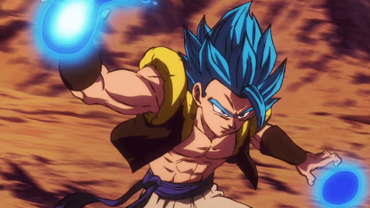 Super Saiyan Blue Gogeta Dragon Ball Super Broly 2