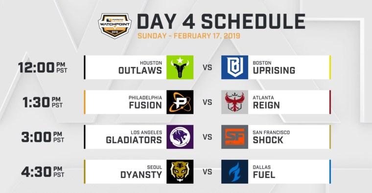 owl s2 schedule d4