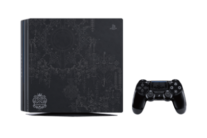 Kingdom Hearts 3 Limited Edition PS4 Pro Controller