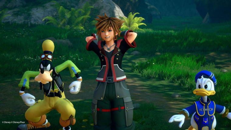 Kingdom Hearts 3 Sora Donald Goofy