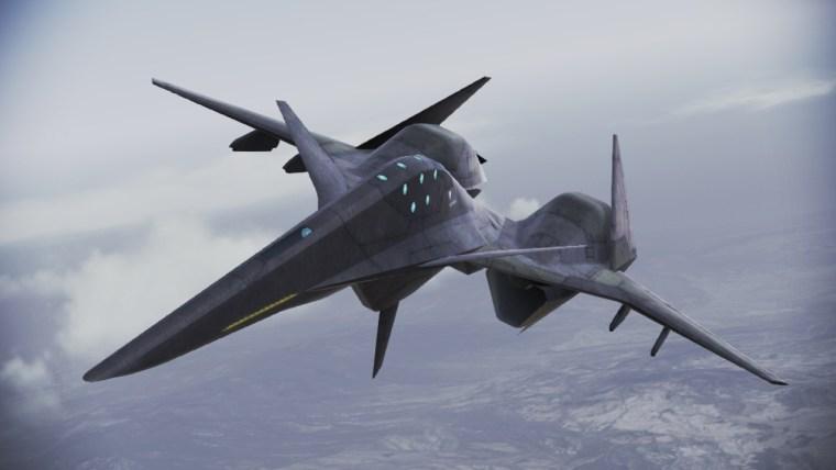 Ace Combat ADF-01 FALKEN