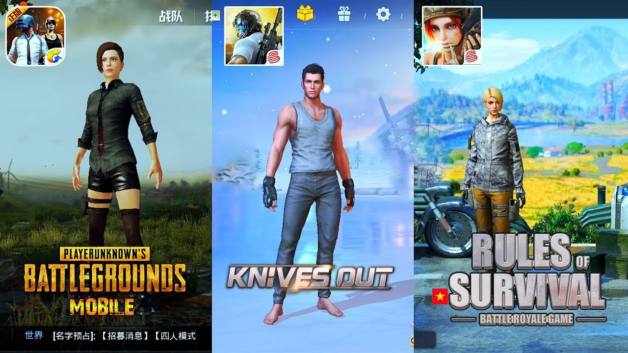 PUBG Settles Lawsuit Against Knives Out And Rules Of Survival