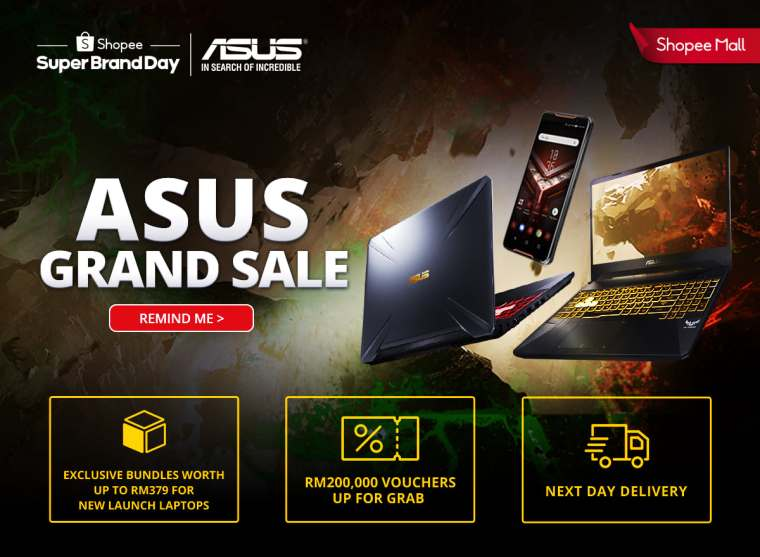 ASUS Shopee Grand Sale