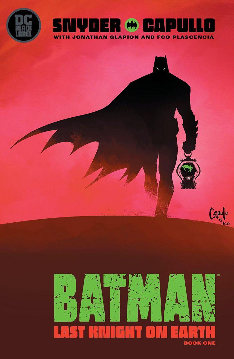 Batman The Last Knight On Earth
