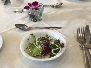 ビストロドリマージュのサラダ